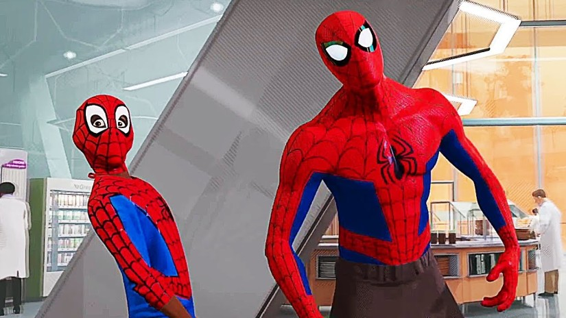 peter and miles - spidey