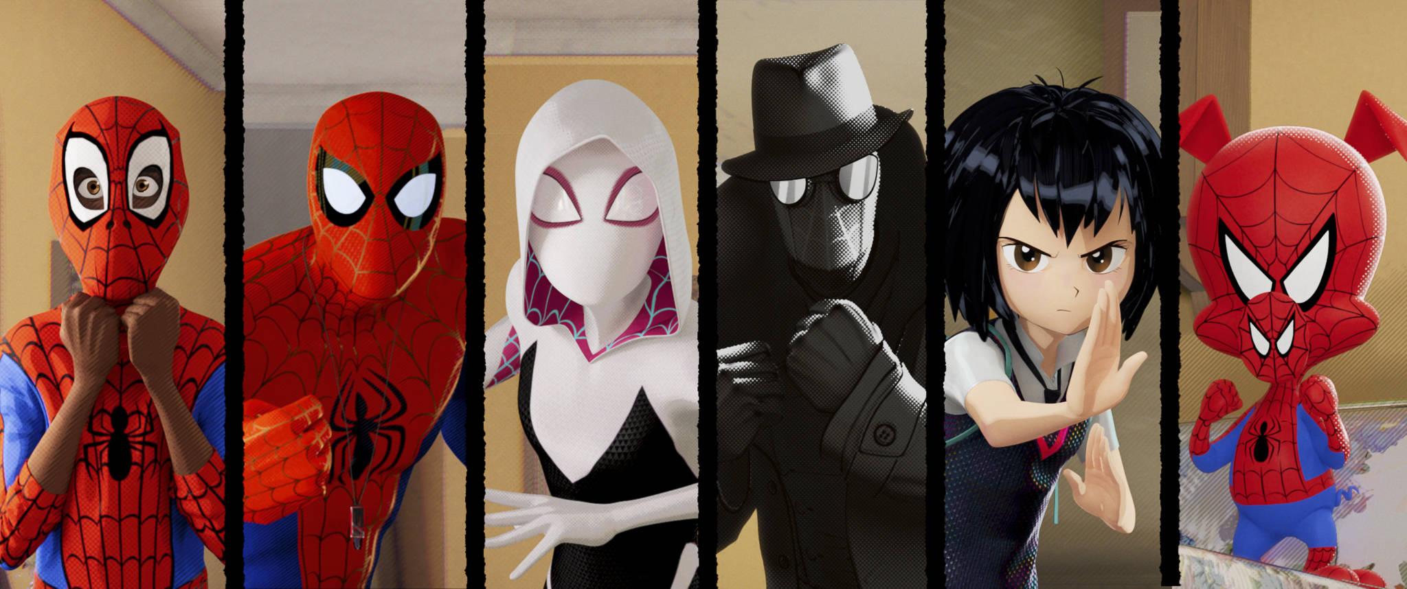spiderverse cast